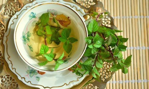 Mint prevents insomnia and balances the digestive tract