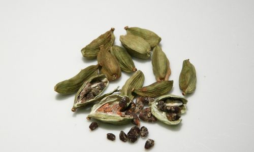 Cardamom relieves poor digestion and is an aphrodisiac